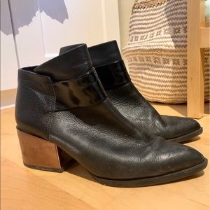 Sam Edelman black booties